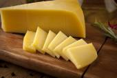 Cheddar cheese concept photo — Stock Photo