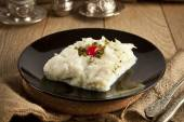 Turkish Ramadan Dessert Gullac — Stock Photo