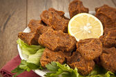 Cig kofte - Turkish Food — Stockfoto