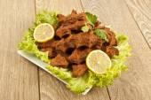 Cig kofte Turkish Food — Stock Photo