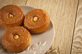 Turkish ramadan dessert sweet - Sekerpare — Foto de Stock