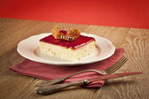 Turkish Traditional Trilece Dairy Dessert Cake — Foto de Stock