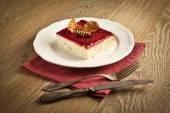 Turkish Traditional Trilece Dairy Dessert Cake — Stock Photo