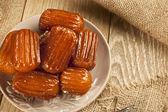 Turkish traditional dessert called Tulumba — Stock Photo