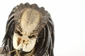 Istanbul, Turkey - January 14, 2015: Isolated studio shot of the Predator character. — Stock Photo