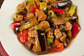 Turlu - Turkish stew of vegetables,with potatoes, eggplant — Stock Photo