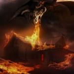 Dragon fire. — Stock Photo #65717087