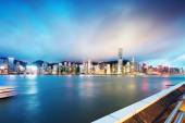 Hong Kong at night — Foto de Stock