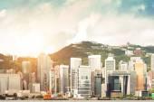 Hong Kong harbour — Stock Photo