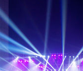 Stage Spotlight with rays — Stock Photo
