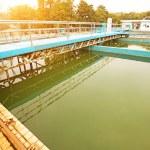 Sewage treatment station — Stock Photo #66112759