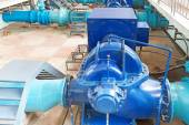 Wastewater treatment plant — Stock Photo