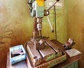 Old drilling machine — Stock Photo