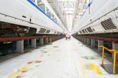 Trem rápido no depósito serviço — Fotografia Stock