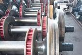 Heavy industry factory — Stock Photo