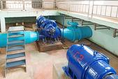 废水处理厂 — 图库照片