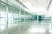 Airport in pudong shanghai china — Stock Photo