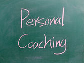 Personal Coaching sign — Stock Photo