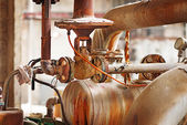 Old rusted machine — Stock Photo