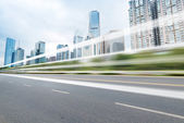 Rapid city traffic — Stock Photo