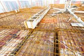 Roof structure construction — Stock Photo