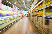 Interno di un centro commerciale — Foto Stock