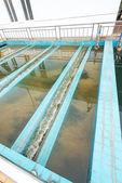 Impianto di lavaggio con acqua — Foto Stock