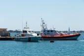 Coast Guard boats — Stock Photo