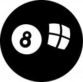 Basen ósemka — Wektor stockowy
