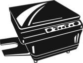 Photocopy Machine — Stock Vector