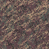 Common Woodland Digital Camouflage Seamless Texture Tile — Photo