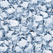 Ice Cubes Seamless Texture Tile — Stock Photo