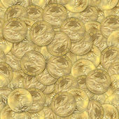 U.S. Gold Eagle Coins Seamless Texture Tile — 图库照片