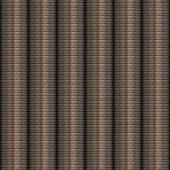 Stacked Coins Seamless Texture Tile — Stock Photo