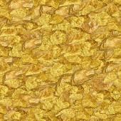 Gold Nuggets Seamless Texture Tile — Stockfoto