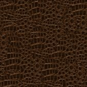Crocodile Hide Seamless Texture Tile — 图库照片