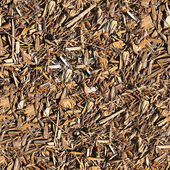 Mulch Seamless Texture Tile — Stock Photo