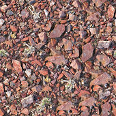 Rocks and Gravel Seamless Texture Tile — 图库照片