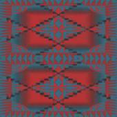 Southwest Pattern Seamless Texture Tile — Stock Photo