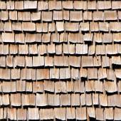 Cedar Shake Wood Shingles Seamless Texture Tile — Foto Stock