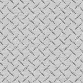 Gray Diamondplate Metal Seamless Texture Tile — Stock Photo