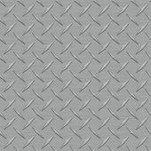 Dark Gray Diamondplate Metal Seamless Texture Tile — Stock Photo