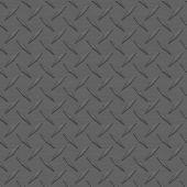 Charcoal Diamondplate Metal Seamless Texture Tile — Stock Photo