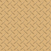 Gold Diamondplate Metal Seamless Texture Tile — Stock Photo