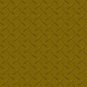 Bronze Diamondplate Metal Seamless Texture Tile — Stock Photo