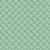 Mint Green Diamondplate Metal Seamless Texture Tile — Stock Photo