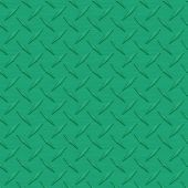 Medium Green Diamondplate Metal Seamless Texture Tile — Stock Photo