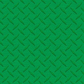 Dark Green Diamondplate Metal Seamless Texture Tile — Stock Photo