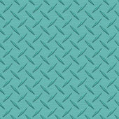 Aqua Diamondplate Metal Seamless Texture Tile — Stock Photo