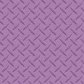 Lavender Diamondplate Metal Seamless Texture Tile — Stock Photo